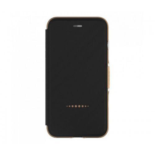 Etui Gear4 D3o Oxford iPhone 7 Plus - Czarny - Złoty, kolor czarny