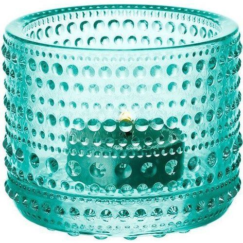 Kastehelmi świecznik na tealight, watergreen - Iittala