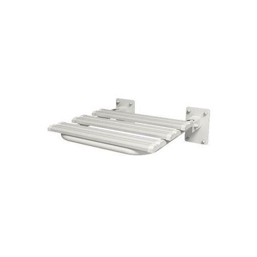 Siedzisko prysznicowe uchylne dla niepełnosprawncyh białe, SZTY-0001