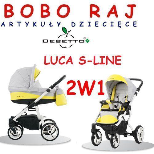 WÓZEK GŁĘBOKO SPACEROWY FIRMY BEBETTO MODEL LUCA S-LINE