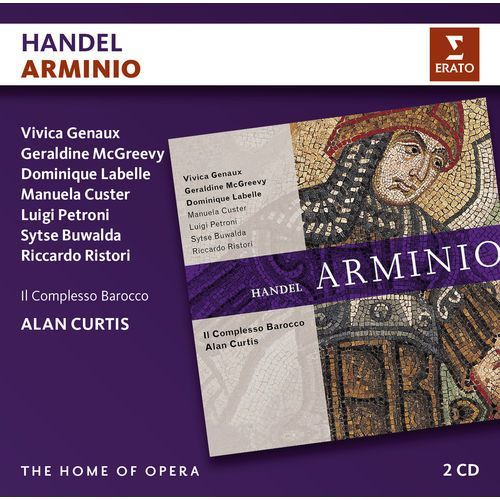 Warner music Handel: arminio - il complesso barocco, alan curtis (płyta cd) (0825646854905)