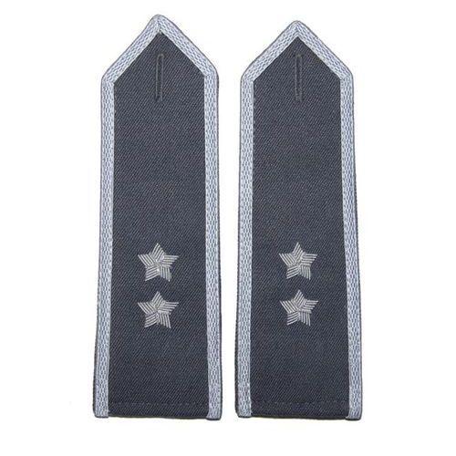Pagony stalowe do koszulo-bluzy Wojska Polskiego - starszy chorąży - nowy wzór
