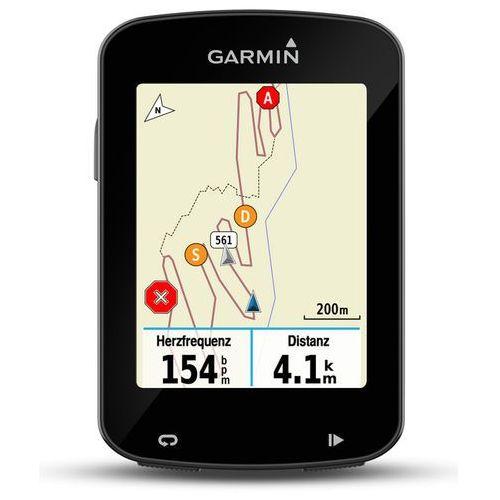 edge 820 gps nawigacja gps zaw. premium hf-pas na klatkę piersiową + czujnik prędkości i kadencji czarny zegarki gps marki Garmin