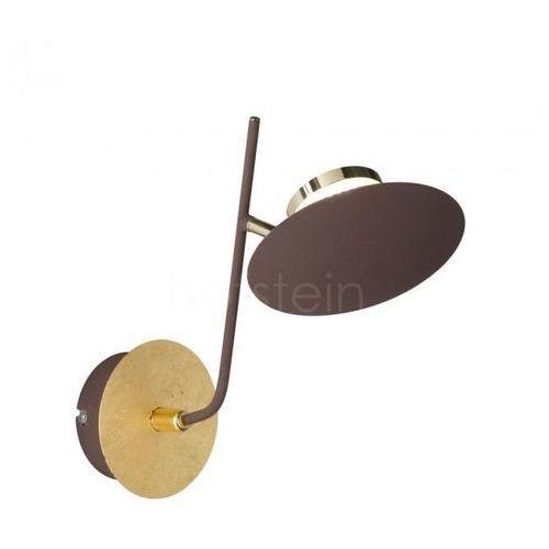 Wofi salem kinkiet led złoty, 1-punktowy - nowoczesny/design - obszar wewnętrzny - salem - czas dostawy: od 3-6 dni roboczych (4003474324296)