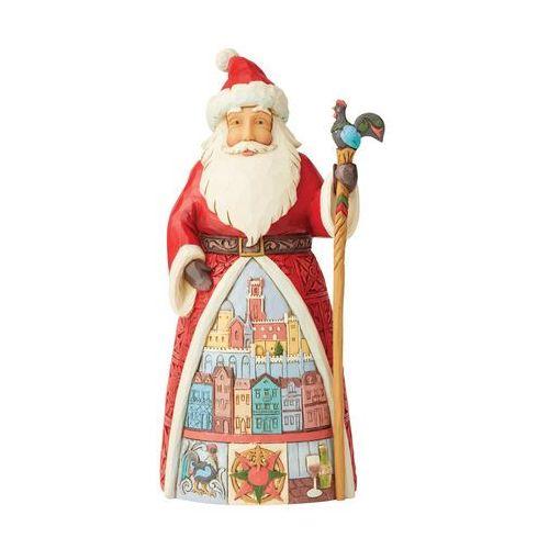 Mikołaj figurka portugalskie życzenia bożonarodzeniowe feliz natal (portuguese santa figurine) 6004235 figurka ozdoba świąteczna marki Jim shore