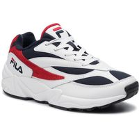 Sneakersy FILA - V94M Low 1010255.01M White/Fila Navy/Fila Red, kolor niebieski