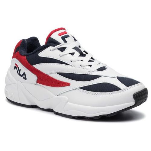 Sneakersy FILA - V94M Low 1010255.01M White/Fila Navy/Fila Red