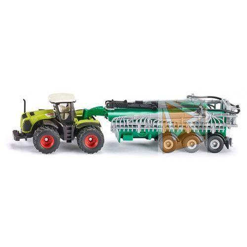 Siku traktor class xerion z cysterną (4006874018277)