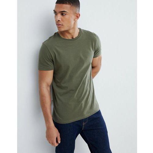 regular fit t-shirt in khaki - green, Burton menswear, XS-XL
