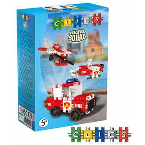 CLICS Klocki Hero Squad Fire Brigade Box