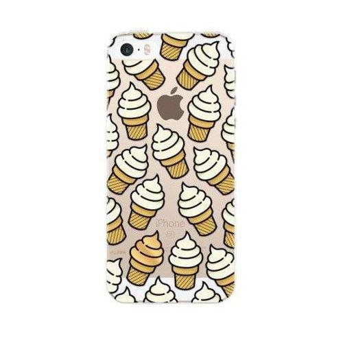 Etui FLAVR iPlate Ice Cream do Apple iPhone 5/5s/SE Wielokolorowy (28360) (4029948059136)