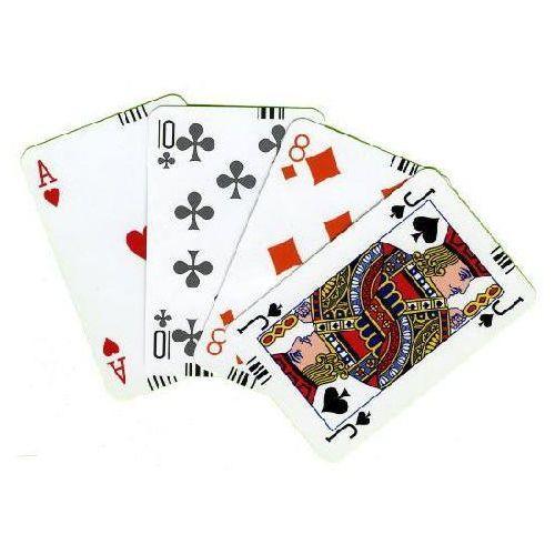 Karty brydżowe z kodem paskowym – grimaud marki Wydawnictwo magdalena jassem