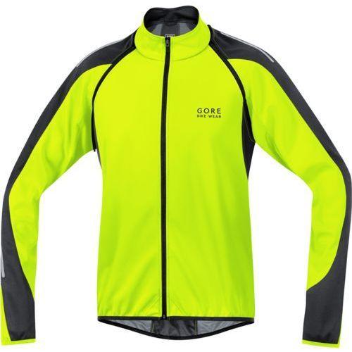 Gore bike wear phantom 2.0 ws so kurtka softshell mężczyźni żółt m kurtki softshell