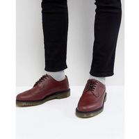 3989 brogues in cherry red - red marki Dr martens