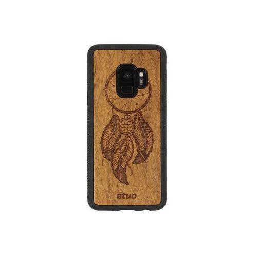 Etuo wood case Samsung galaxy s9 - etui na telefon wood case - łapacz snów - imbuia