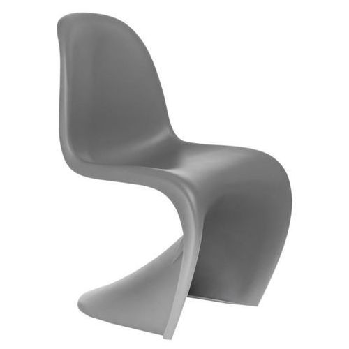 Krzesło Balance PP szare, kolor szary
