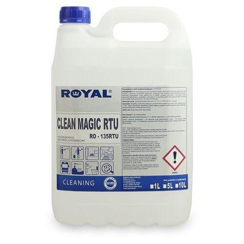 Clean Magic RTU 5 L Odkażający płyn do ścian, podłóg i powierzchni Płyn do odkazania powierzchni, odkazanie scian, dezynfekcja podlog,