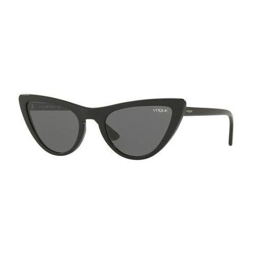 Okulary Słoneczne Vogue Eyewear VO5211S by Gigi Hadid W44/87, kolor żółty