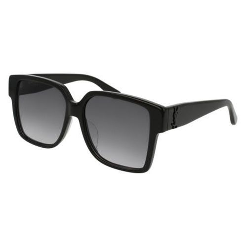 Saint laurent Okulary słoneczne sl m9/f asian fit 002