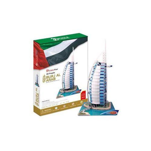 Puzzle 3d burjal arab zestaw xl marki Cubicfun