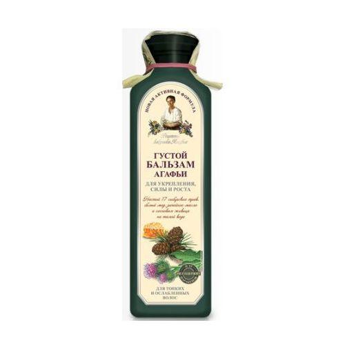 Babuszka Agafia Gęsty balsam wzmacniający do włosów cienkich i łamliwych 350ml