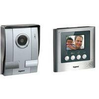 Zestaw wideodomofon z ekranem kit 3,5 cala aluminium 369100 marki Legrand