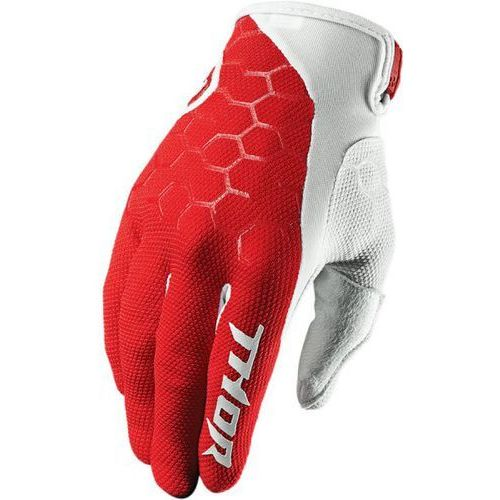 THOR RĘKAWICE DRAFT S7 OFFROAD GLOVES RED/WHITE =$