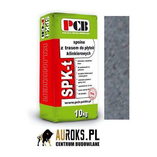 spoina z trasem do płytek klinkierowych do spoinowania w zakresie 4-16 mm spk-t 10kg szara marki Pcb