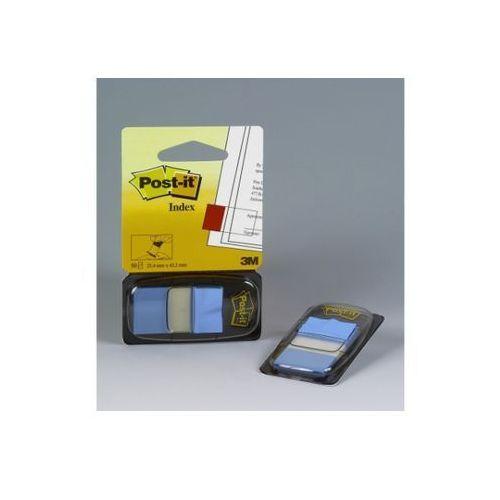 POST-IT Zakładki indeksujące standardowe 680-23 25x43mm, jaskrawy niebieski