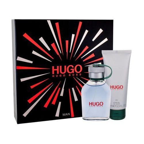Hugo boss hugo man zestaw edt 75 ml + żel pod prysznic 100 ml dla mężczyzn (3614226705754)