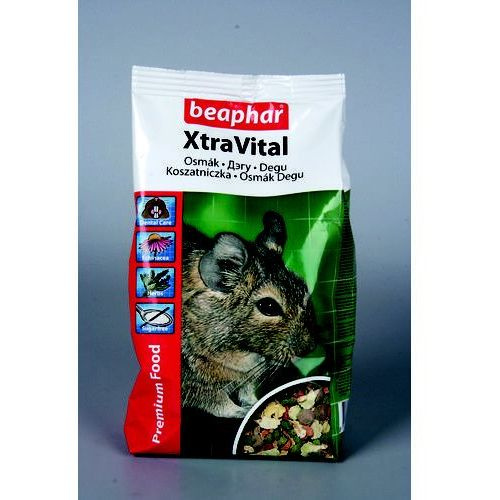 BEAPHAR Xtra Vital - pokarm dla koszatniczki 500g (8711231161478)