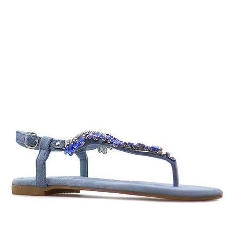 Sandały 7264-11 niebieskie marki Vices