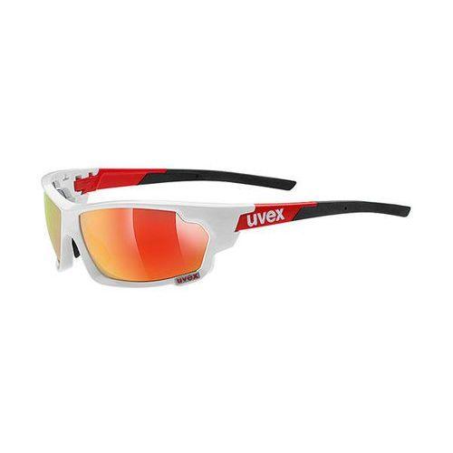 Uvex Okulary sportstyle 703 biało-czerwone (2010000506318)
