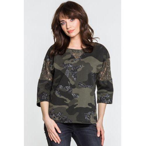 Bluza w moro - Margo Collection