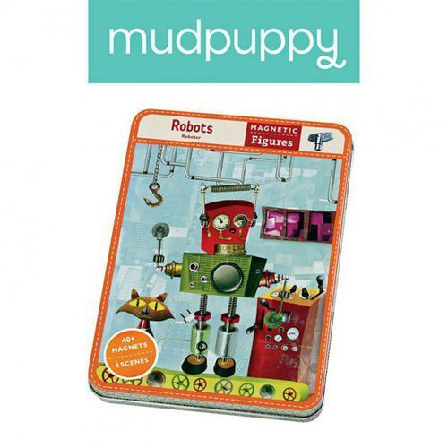magnetyczne postacie roboty 6+ marki Mudpuppy