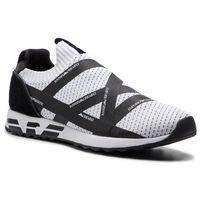Emporio armani Sneakersy - x4x253 xl692 c440 white/black/black/bl