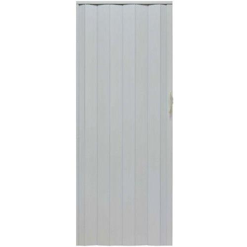 Drzwi Harmonijkowe 001P 014 Biały Mat 80cm, GK-0019