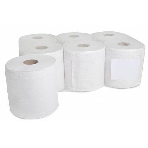 Papier toaletowy JUMBO mini bielony 2 warstwowy 12105 12 SZT. - OM2011
