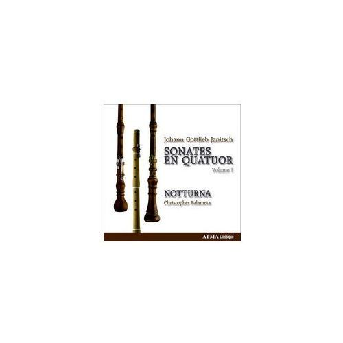 Janitsch: chamber music for oboes and strings, volume 1 marki Atma classique