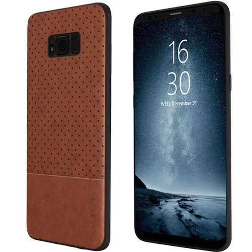 Qult Etui back case drop do samsung galaxy s8 brązowy (5901386713483)