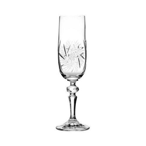 Kieliszki kryształowe do szampana 6 sztuk 3605