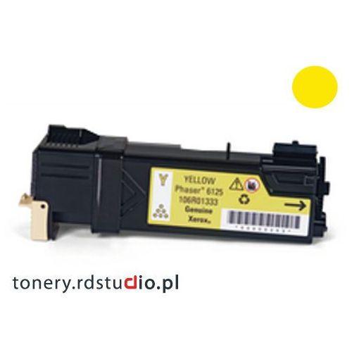 Quantec Toner do xerox phaser 6125 - zamiennik xerox 106r01337 yellow / żółty