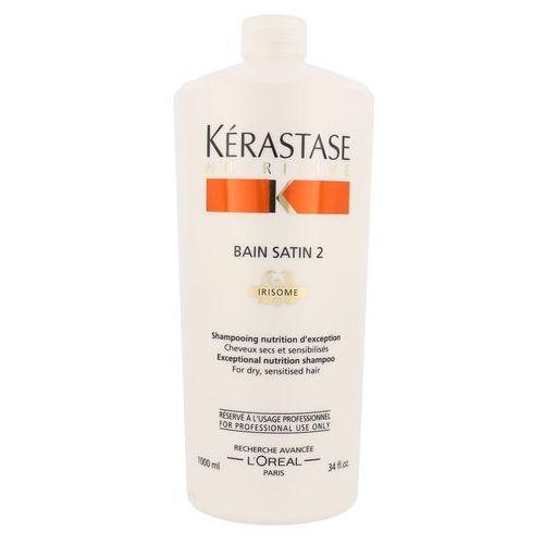 Kerastase Bain Satin 2 - Kąpiel odżywcza do włosów suchych, uwrażliwionych 1000 ml, 3474630564893