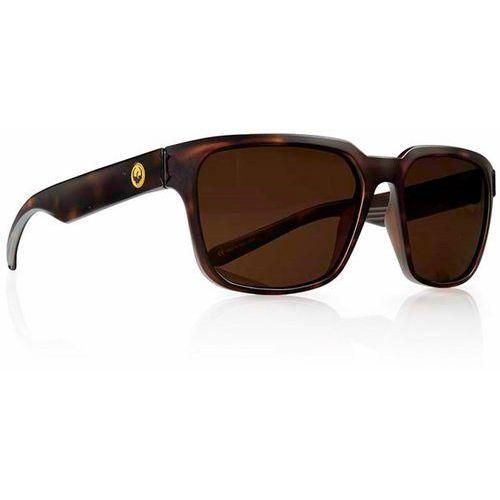 Okulary słoneczne - reflector polar matte tortoise brown (245) rozmiar: os marki Dragon