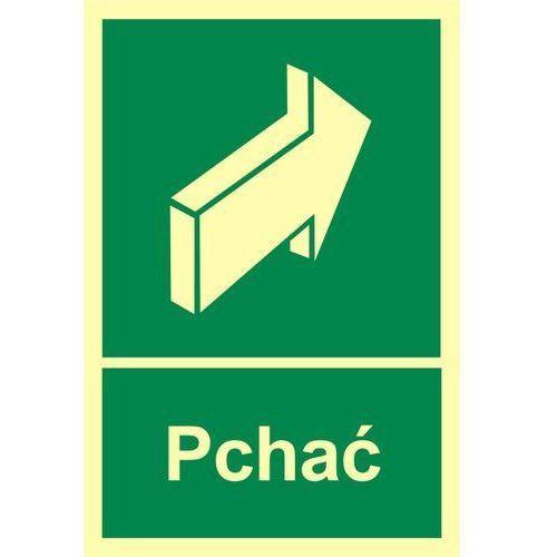 Znak pchać, marki Techem