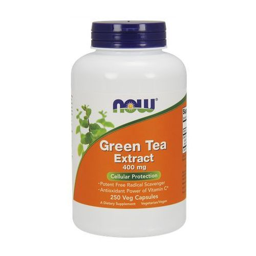 Kapsułki Now Foods Green Tea Extract 400mg 250 kaps.