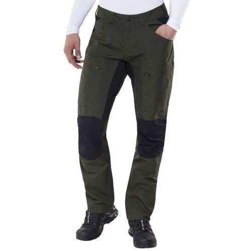 Lundhags Lockne Spodnie długie Mężczyźni czarny/oliwkowy 52 2018 Spodnie turystyczne, kolor zielony