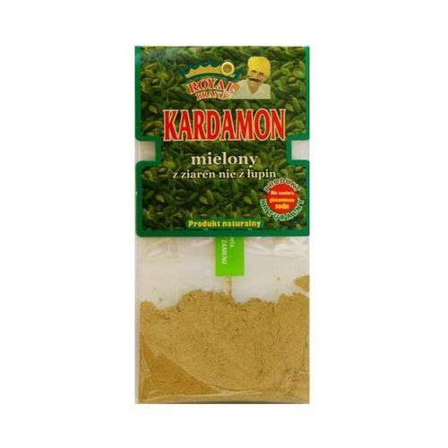 Royal brand Kardamon mielony z ziaren (nie z łupin) 15 g (5907431791611)