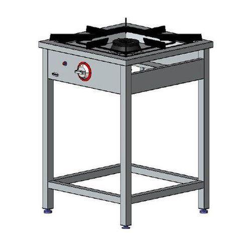 Kuchnia gazowa 1-palnikowa EGAZ TG 110.II, TG 110.II