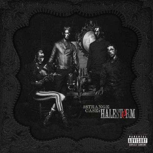 Warner music / roadrunner records Halestorm - strange case of..,the (0075678766817)